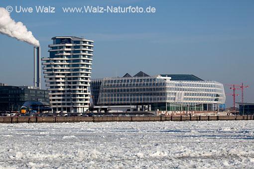 Hamburg Harbour, Unilever Haus und Marco Polo Tower