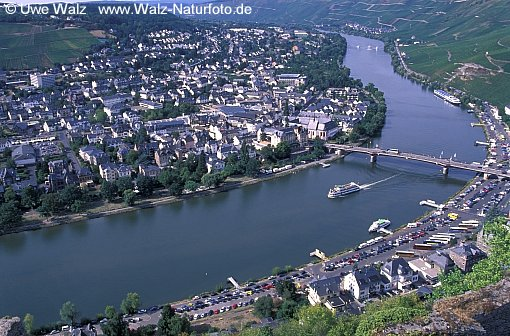 Mosel river, Bernkastel Kues