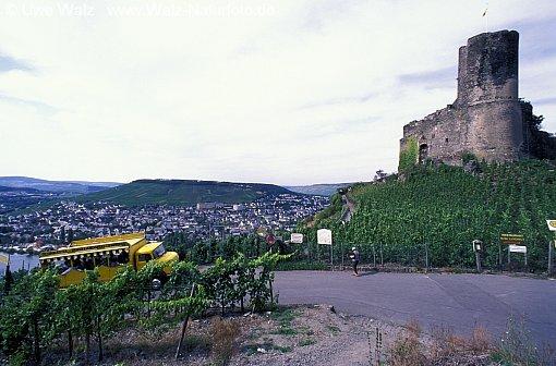 Castle ruins Landshut & Bernkastel Kues