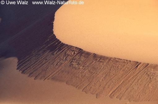 Dunes structure, Namib desert