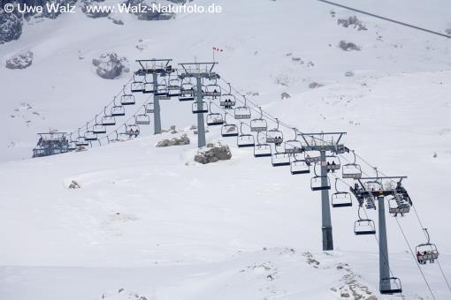 Skiing area Nebelhorn  Allgäu, Germany