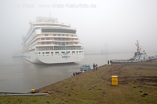 Undocking AIDAsol, Meyer Werft Papenburg