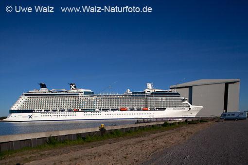 Undocking Celebrity Silhouette, Meyer Werft Papenburg