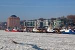 Hamburg Harbour, Bürohäuser and  Retirement Home Augustinum Hamburg