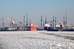 Hamburg Harbour, Blohm & Voss Shipyard
