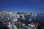 Sailing boat race Warnemünder Woche
