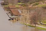 Elbe, Inundation, floding in Dresden