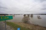 Elbe, Inundation, floding about  Dömitz