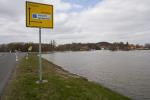 Elbe, Inundation, floding near Dömitz