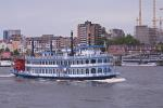 Hafen Hamburg,  Paddle wheel steamer Loisiana St.