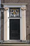Front door in Zaanse Schans, Netherlands