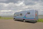 Overnight stay place for motorhomes