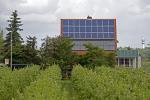 House with  Photovoltaik plant