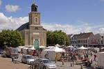 Husum, Market place  and church