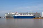 Cargo Ships BISHU HIGHWAY & Cargo Schiff CITY OF AMSTERDAM