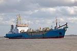 Suction dredger  HEGEMANN I, Harbour Emden