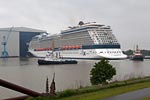 Undocking Celebrity Silhouette, Meyer Werft Papenburg