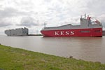 Car carrier KESS ISAR HIGHWAY and  NIPPON HIGHWAY
