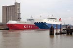 Car carrier KESS EMS HIGHWAYand VIKING CONSTANZA